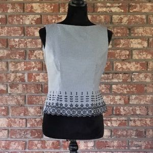 Connected Petite Sleeveless Top